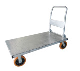 metal pushcart