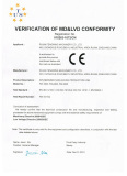 CE certificate for the nonwoven spunbonded machine