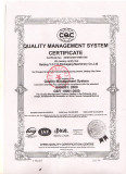 Quality management system certification ISO9001