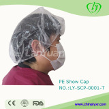 Transparent PE Shower Cap