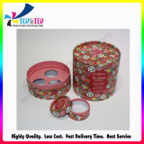 Paper round box for perfume