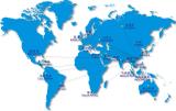 Global Sales Distribution Map