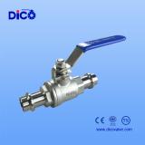 double press end 2 PC ball valve