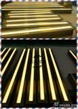 yellow color linear led underground light