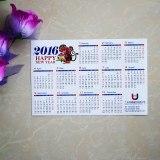 Magnetic Refrigerator Calendar/Fridge Magnet Calendars/Promotional Magnetic Calendar