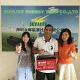 South Asia Customer need Solar Gel Battery visit our Sunlike Office