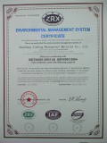 Environmental Mangement System Certificate
