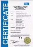CE Certificate of Medical Peripherals