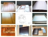 maple solid wood kitchen cabinet factory
