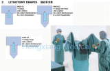 Lithotomy Surgical Drape