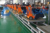 Production Line for Floor Saw