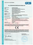 CE Certification of Luggage Edge Cutting Machine