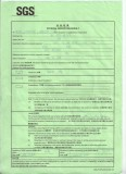 Professional shipping customs certificate