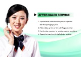 Safe and reliable after-sales service