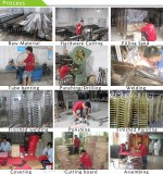 Steel chair production process