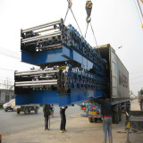 Loading the IBR Roofing Sheet roll forming machine to Pakistan