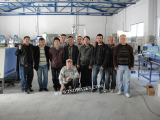 Our engineers installed machines in customer′s Water Plant in The Republic of Albania