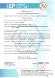 NJZ-FEL(B) Explosion proof light ATEX certificate
