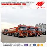 20 Units Cheap price 3 axles Sodium soda tank semi trailer shipped to Tianjin