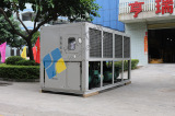 Air cooled chiller for ice rink
