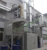 Dust collector used in activated carbon