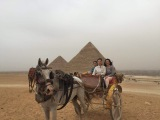 We went to Egypt to visit our customer