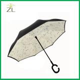 Manual Reverse Straight Cars Umbrella