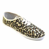 Grey Endows Printing Canvas Upper Women Casual Shoes Running Sneaker