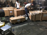 Mould shipment from Caozhen Mould