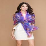 Printing Silk Scarf For Ladys