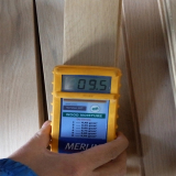 check the moisture content piece by piece