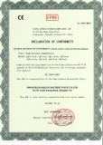 CE Certificate for Homogenizer