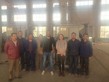 Egypt Customer Visit for Motorized Cable Reel