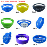 RFID Silicon Wristbands/Bracelets