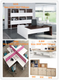 Melamine office furniture, office desk, office partition, file cabinet