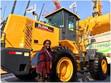 African Customer For XCMG Zl50GN