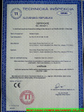 CE Certificate for Diesel Engine