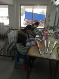 work process-sanding