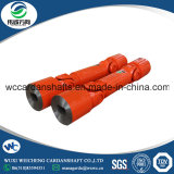 The use of drive cross shaft universal coupling for cold rolling mill
