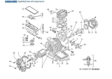 Exploded View of Air Conditioner Compressors