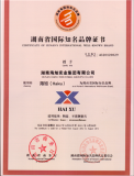 CERTIFICATE OF HUNAN′S INTERNATIONAL WELL-KNOWN BRAND