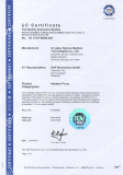 CE Certificates for Infusion Pump