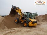 Strong wheel loader H928 with High strength test drive !