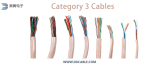 Category 3 Twisted Pair Data Cables Cm/Cmr/CMP