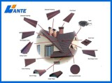 Recyclability Metal Architectural Asphalt Shingles Roof Tiles