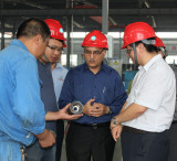 India clients visiting our workshops