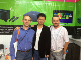 Customers visit our company booth on Germany Fair