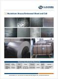 Aluminium stocco embossed sheet /coil