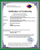 FCC certificate for Mini300
