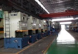 JH25 c frame double crank press assembling line